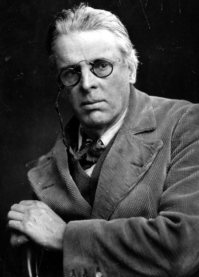 People Photograph - William Yeats by Hulton Archive