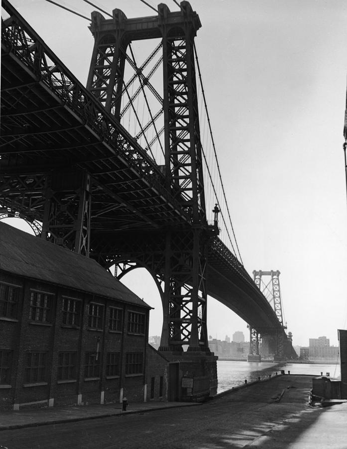 Williamsburg Bridge Photograph by Frederic Lewis