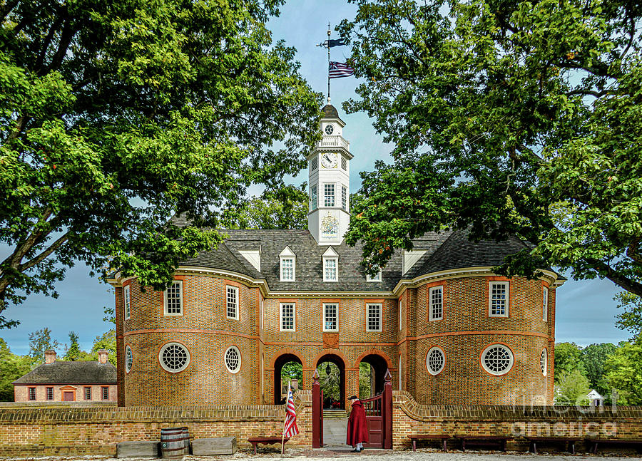 Williamsburg Capitol by David Meznarich
