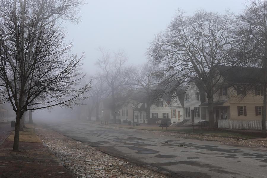 Williamsburg in the Fog by Rachel Morrison