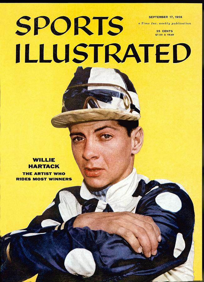 Willie Hartack, Jockey Sports Illustrated Cover Photograph by Sports Illustrated