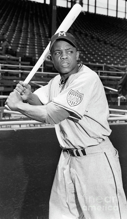 Willie Mays In Rookie Shot Photograph by Bettmann