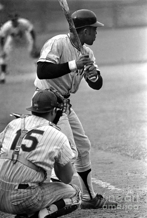 Willie Mays Of The San Francisco Giants Photograph by Mitchell Reibel