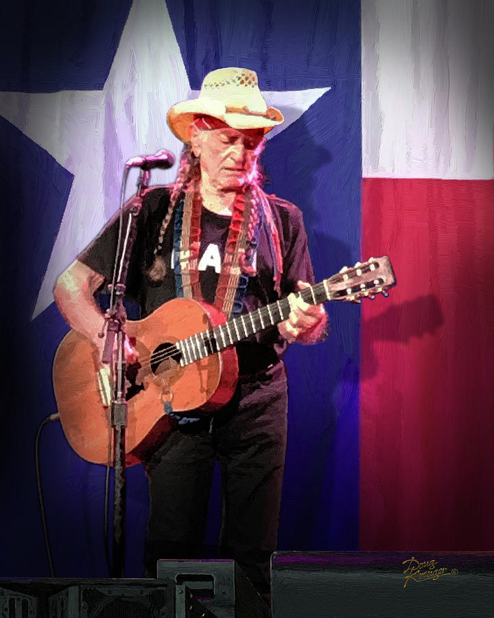 Willie Nelson Live at 85  by Doug Kreuger