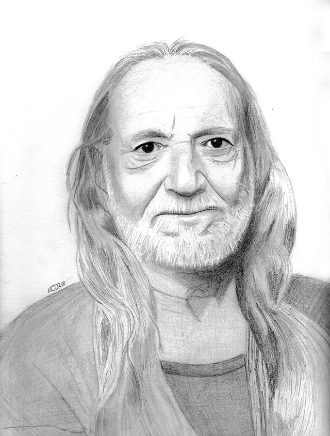 Willie Nelson by Pat Moore