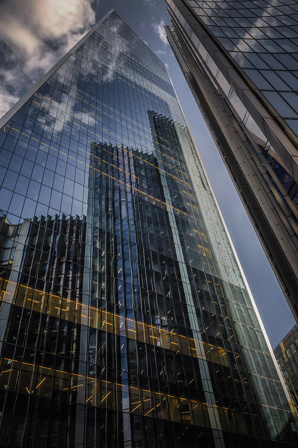 Willis Building Reflections No 1 by Chris Fletcher