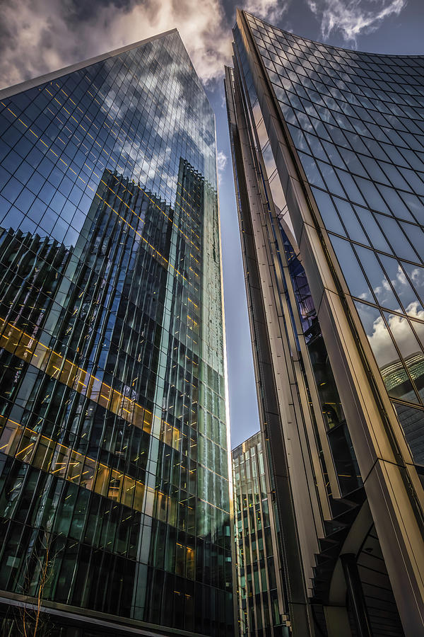 Willis Building Reflections No 2 by Chris Fletcher