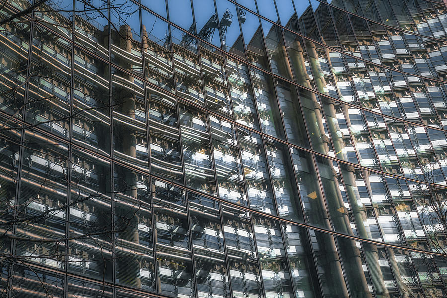 Willis Building Reflections No 4 by Chris Fletcher