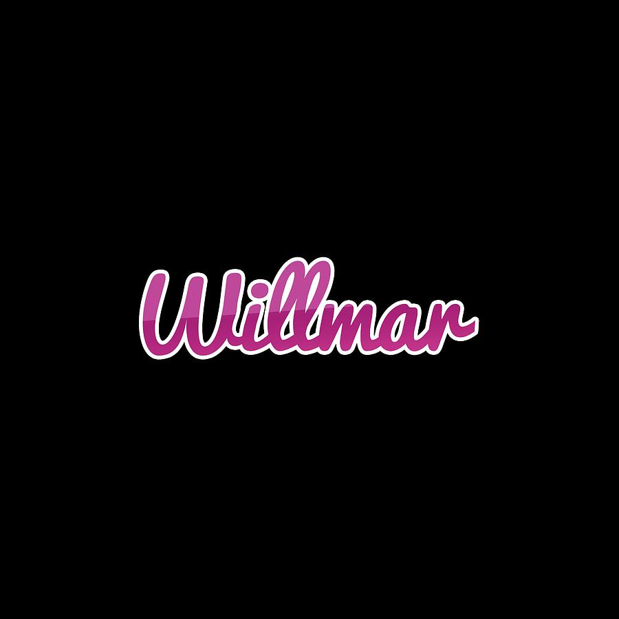 Willmar Digital Art - Willmar #willmar by TintoDesigns