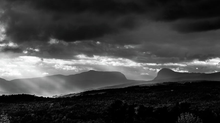 Willoughby Gap BW by Tim Kirchoff
