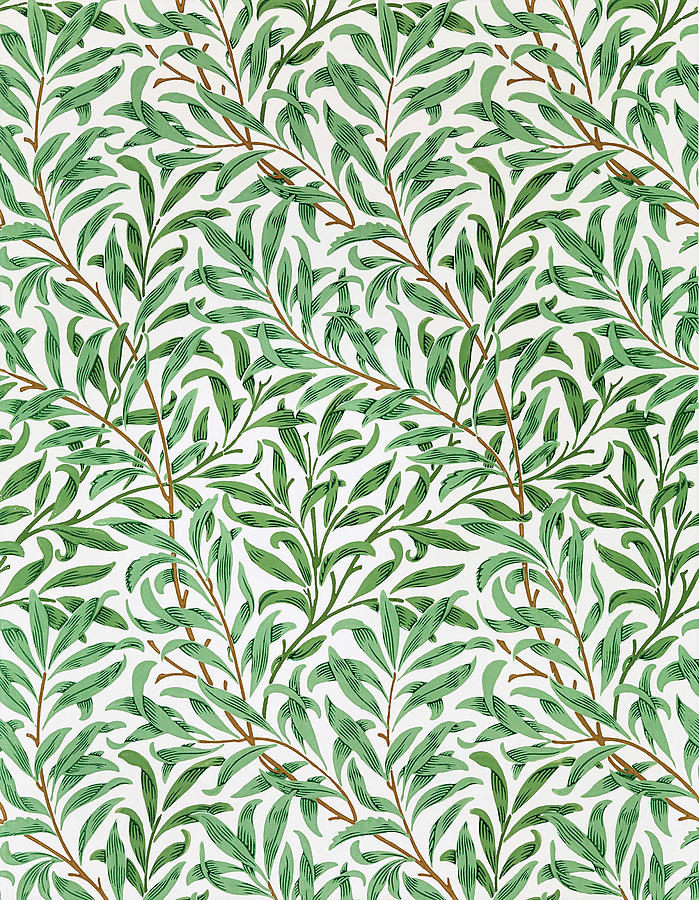 William Morris Painting - Willow Bough - Digital Remastered Edition by William Morris
