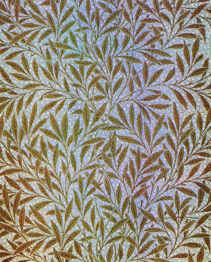 Willow Painting - Willow - Digital Remastered Edition by William Morris