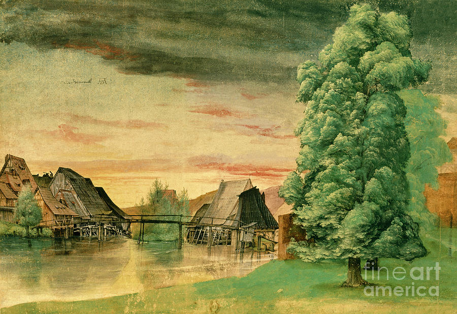 Willow Mill by Albrecht Durer