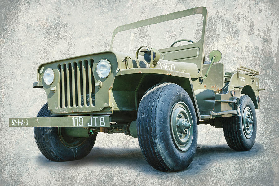 Willy Jeep Replica Photograph