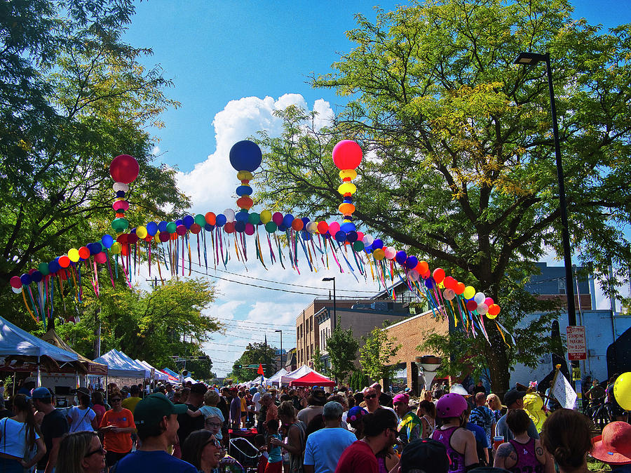 Willy St Fair - Madison - Wisconsin by Steven Ralser