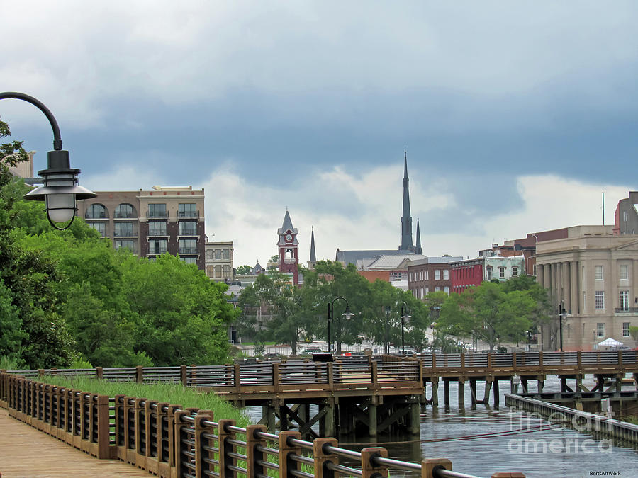Wilmington Skyline by Roberta Byram