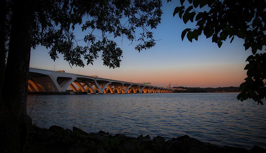 Wilson Bridge from Jones Point by Lora J Wilson