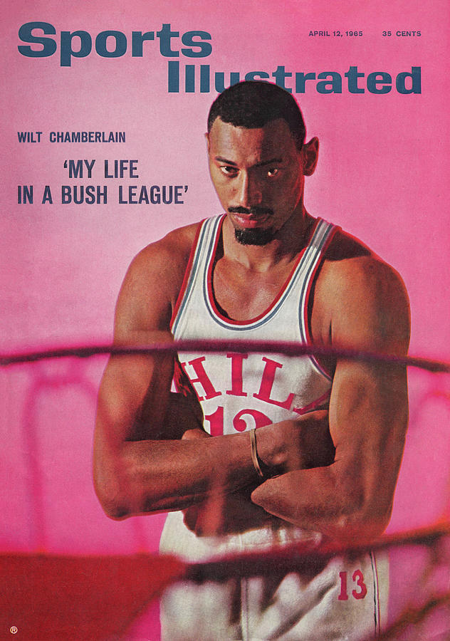 Wilt Chamberlain my Life In A Bush League Sports Illustrated Cover Photograph by Sports Illustrated