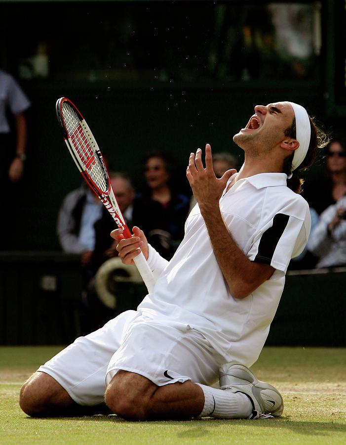 Wimbledon Championships 2004 - Day 13 Photograph by Clive Brunskill