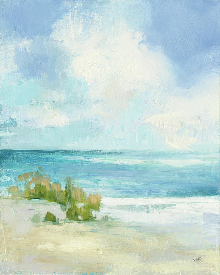 Beaches Painting - Wind And Waves II by Julia Purinton