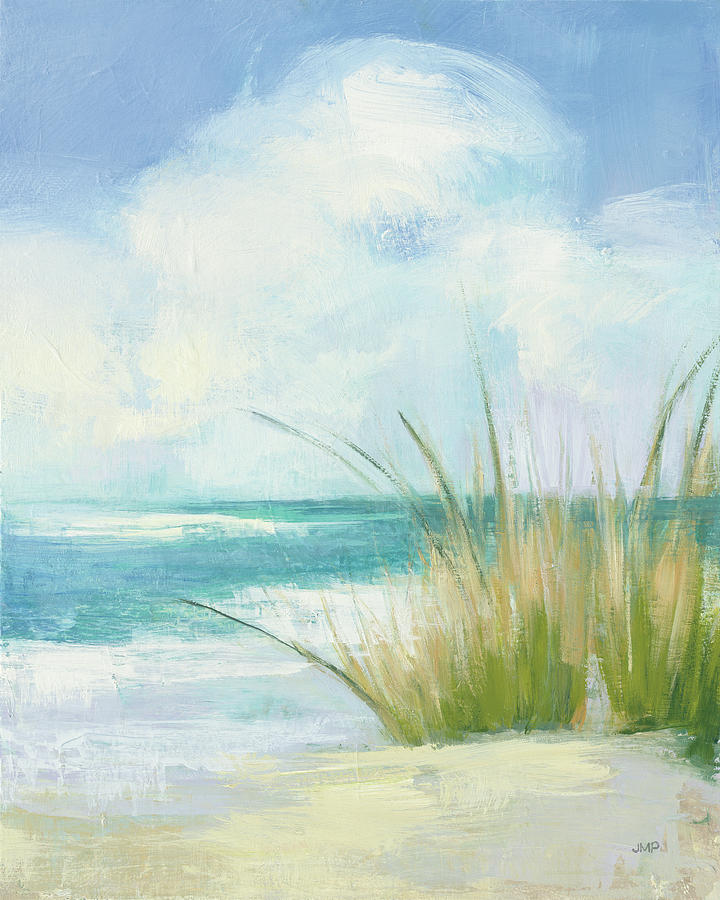 Beaches Painting - Wind And Waves IIi by Julia Purinton