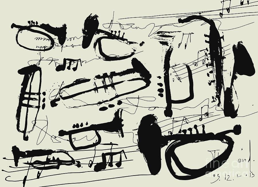 Preview Digital Art - Wind Instruments by Dmitriip