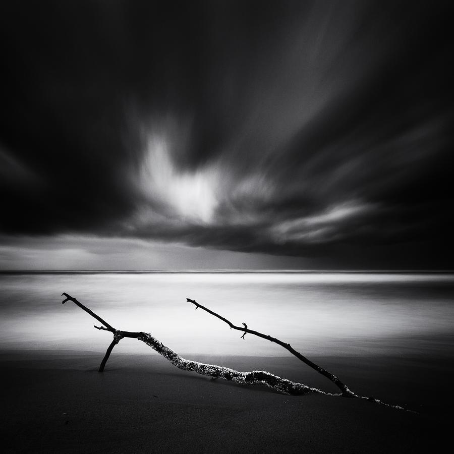Sea Photograph - Wind by Massimo Della Latta