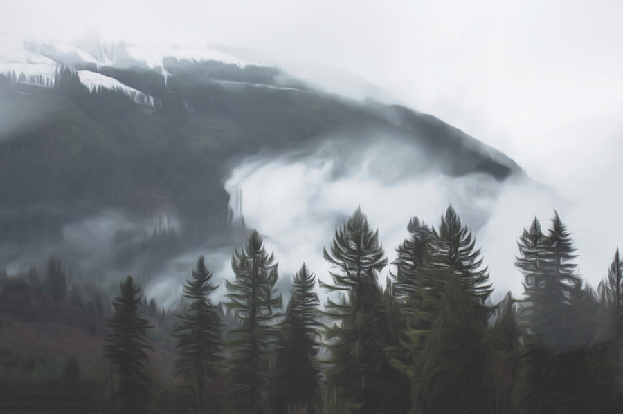 Wind Pulling Clouds from Trees by Davin McLaird