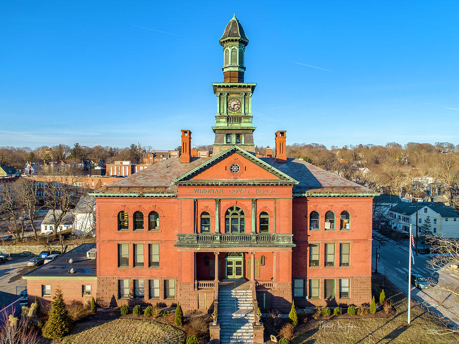 Windham City Hall  by Michael Hughes