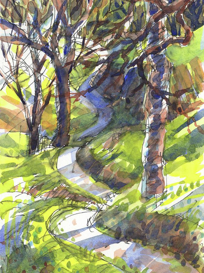 Winding Trail by Judith Kunzle