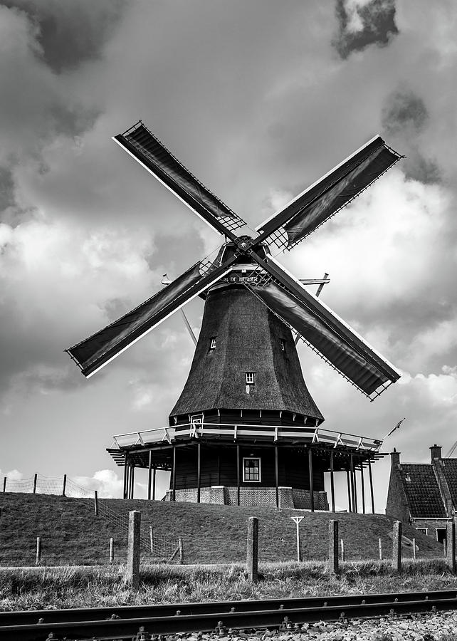 Holland Photograph - Windmill by Framing Places