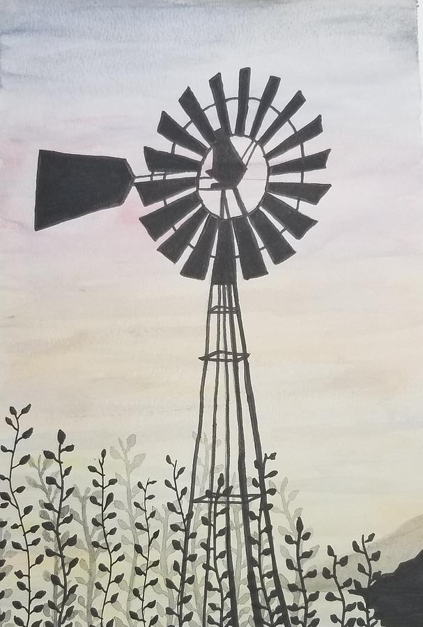 Windmill  by KRISTIN MCDONNEL