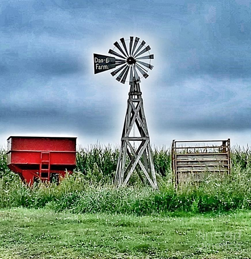Windmill by Pamela Walrath
