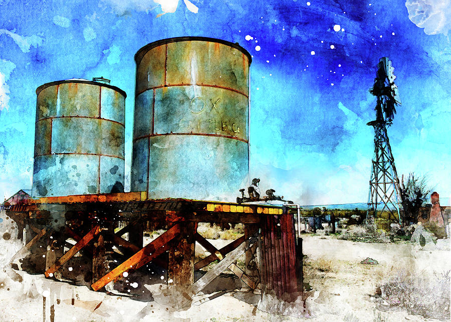 Windmill Tanks by Mark Jackson