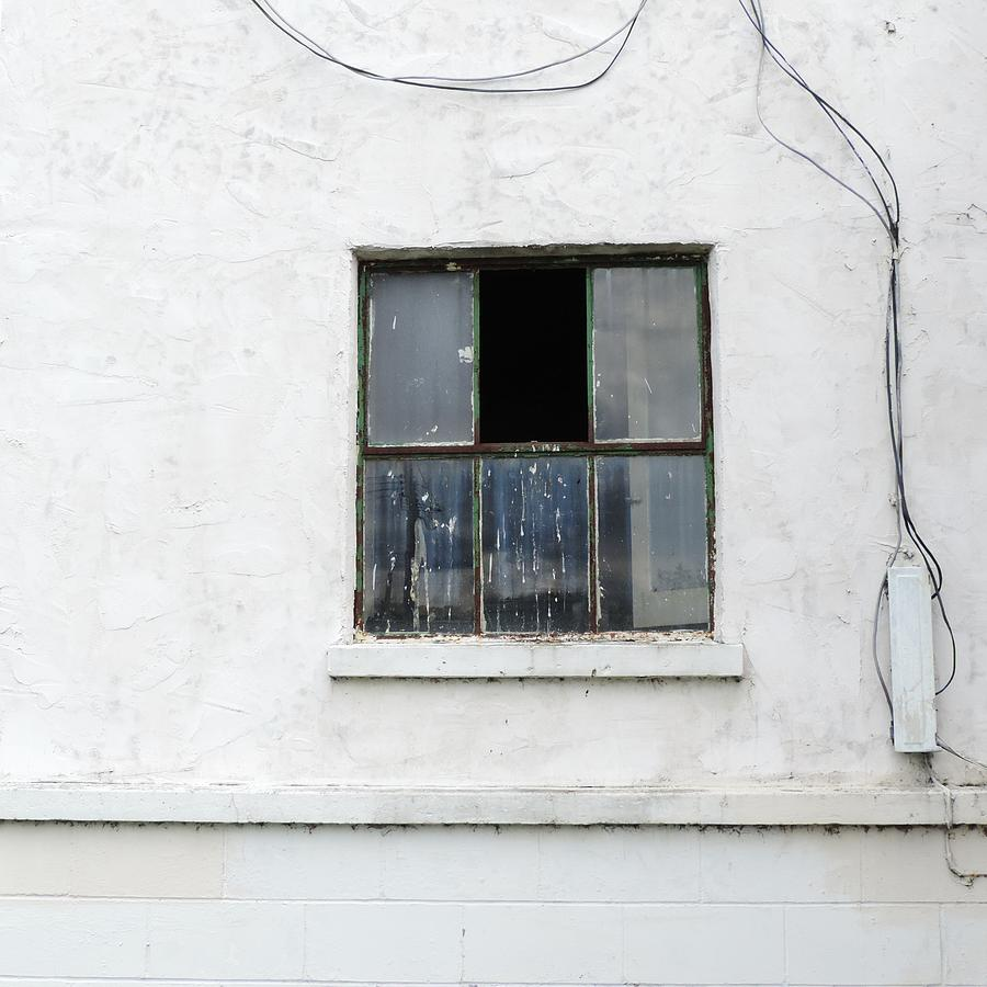 Window and Wires by Bill Tomsa