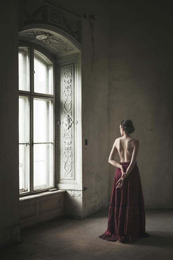 Behind Photograph - Window by Dorota Gorecka