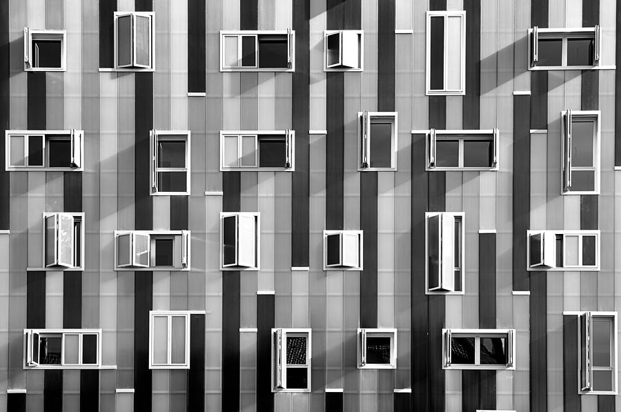 Window Facade Photograph by Gabriel Sanz (glitch)