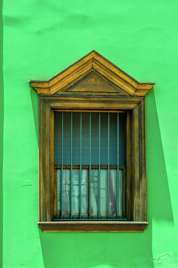 Window In Antofagasta Chile Photograph