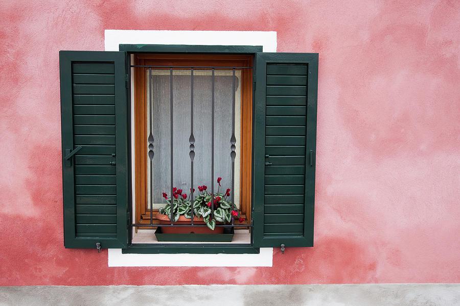 Window In Venice Photograph by Vegard Sætrenes