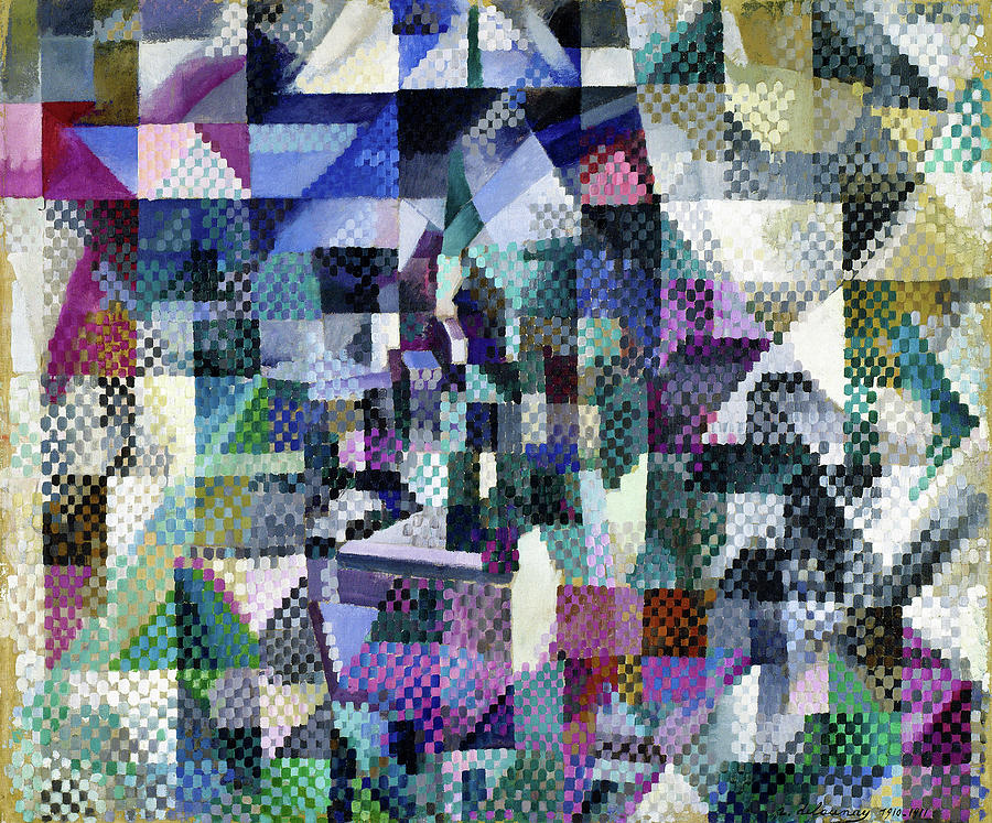 Window on the City No.3 - Digital Remastered Edition by Robert Delaunay
