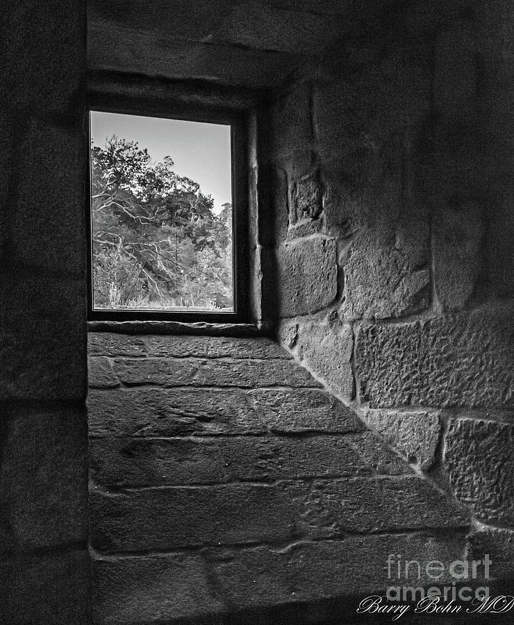 Window shadows BW by Barry Bohn