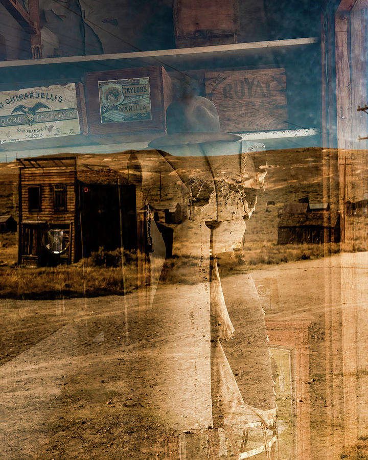 Bodie Photograph - Window Shopping by Joseph Smith