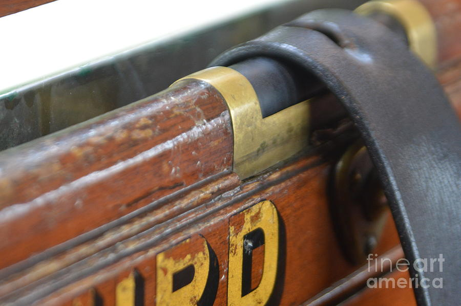 Carriage Photograph - Window Strap by Andy Thompson