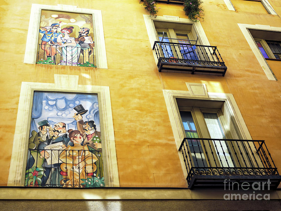 Window Style in Madrid by John Rizzuto