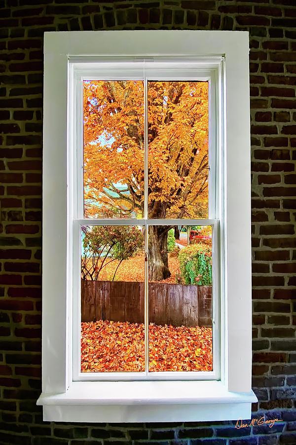 Window to Fall by Dan McGeorge