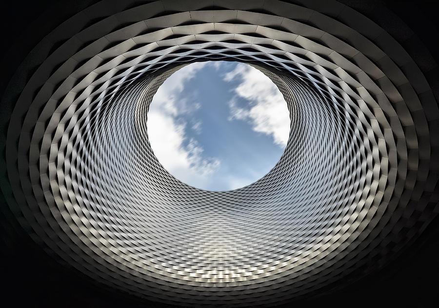 Basel Photograph - Window To Heaven by Renate Reichert