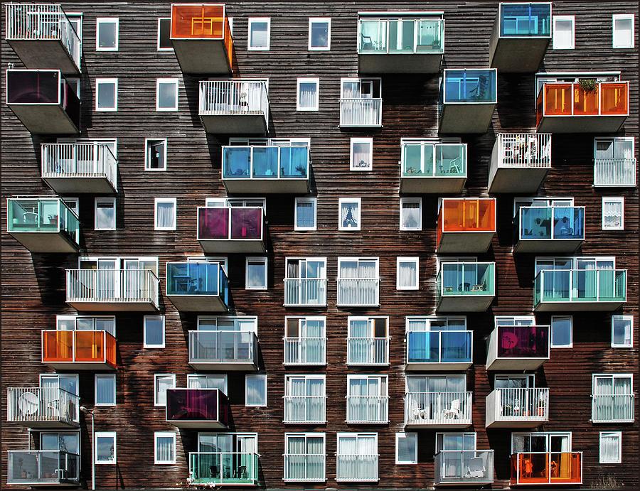 Windows And Balconies Photograph by Maria Luisa Corapi