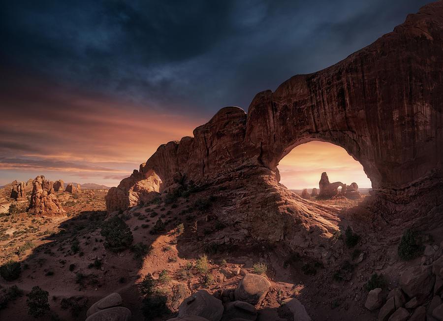 Windows Photograph by Carlos F. Turienzo