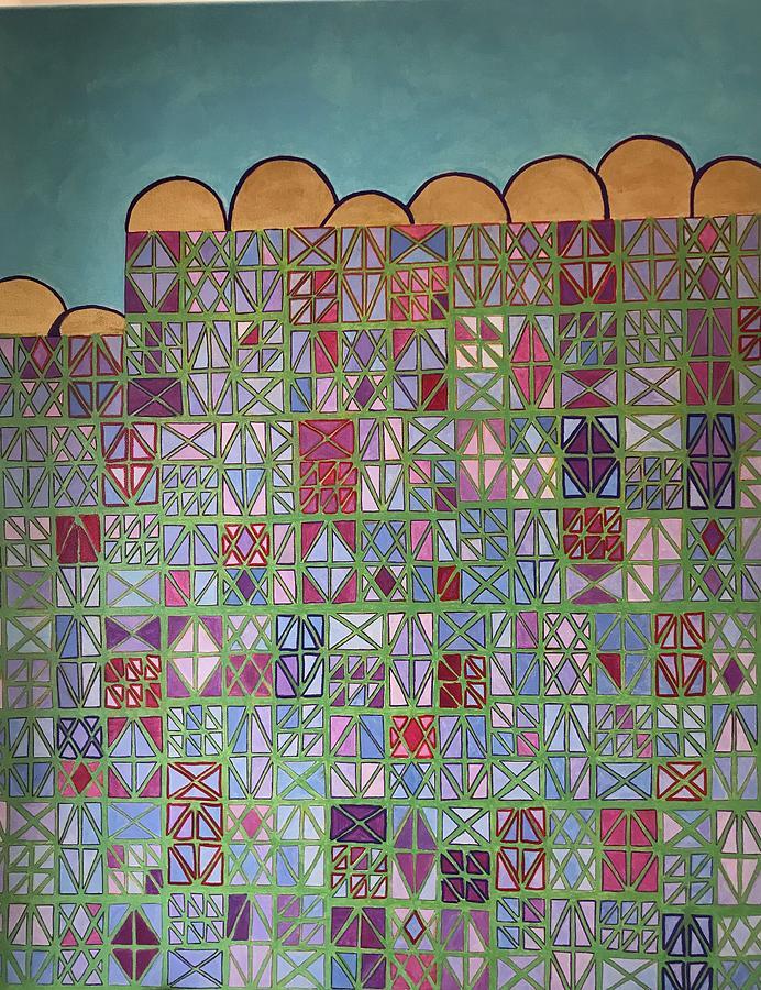 Geometric buildings by Hila Abada