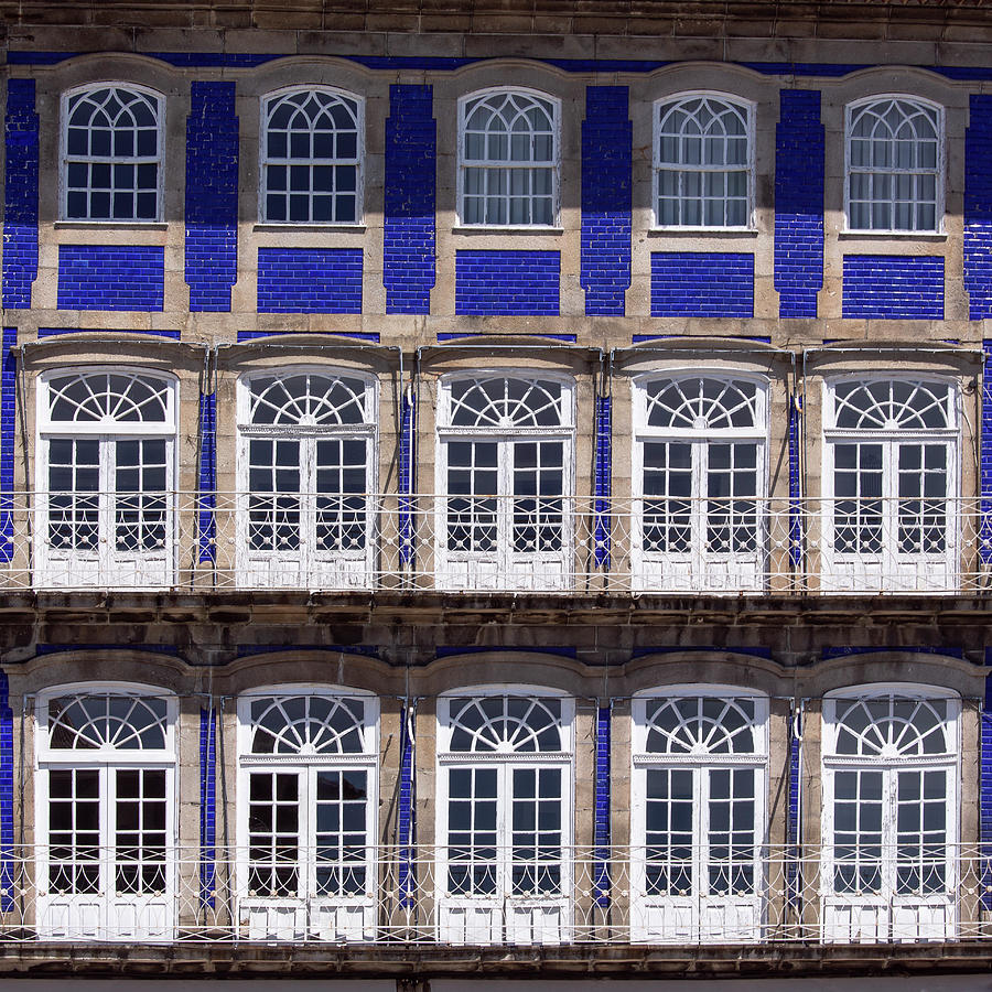 Windows in blue by Edgar Laureano